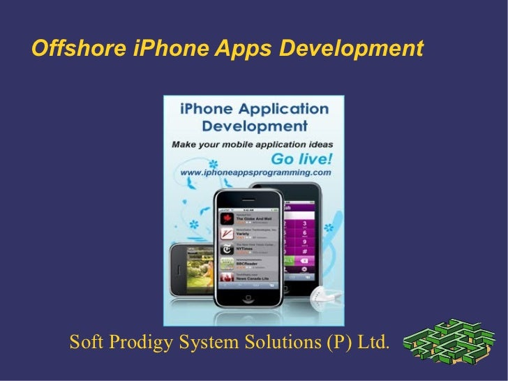 Offshore iPhone Apps Development   Soft Prodigy System Solutions (P) Ltd.