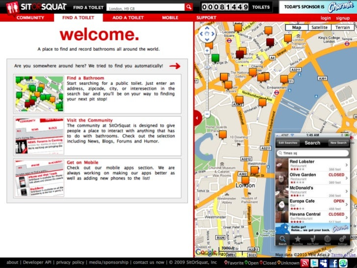Big brands and entertainment properties      using the Foursquare platform.