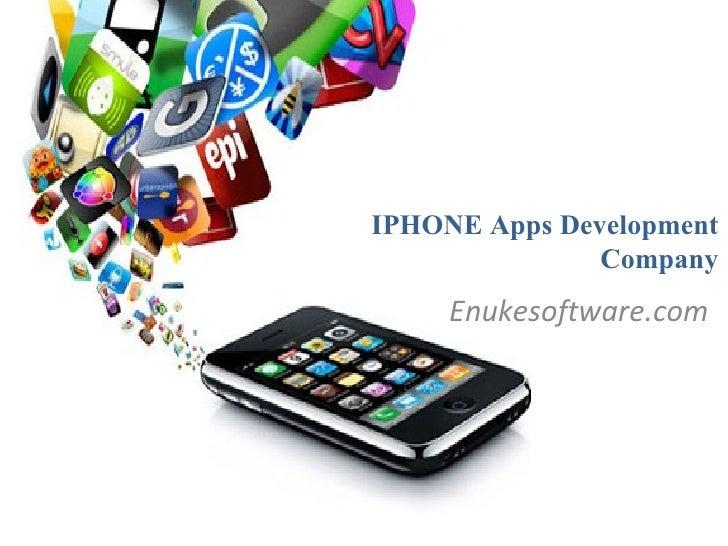 IPHONE Apps Development               Company     Enukesoftware.com