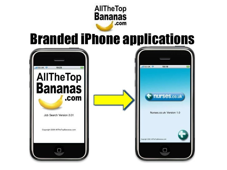 Branded iPhone applications <br />