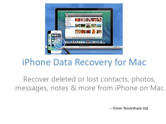 Show You How to Recover Lost Files from iPhone 5s\/5C\/5\/4S\/4\/3GS on Ma\u2026