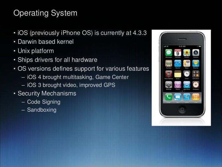 iphone operating system slicing into apple iphone engineering 8260