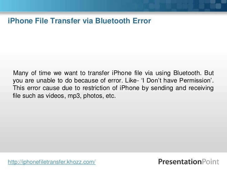 how to send files using bluetooth