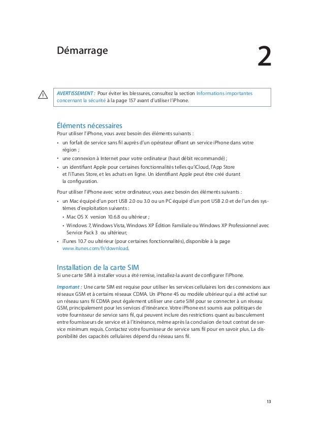 iphone guide de l utilisateur rh fr slideshare net