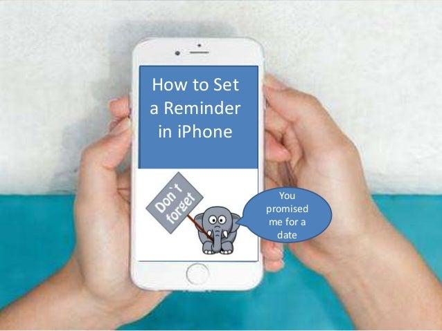 set reminder iphone email