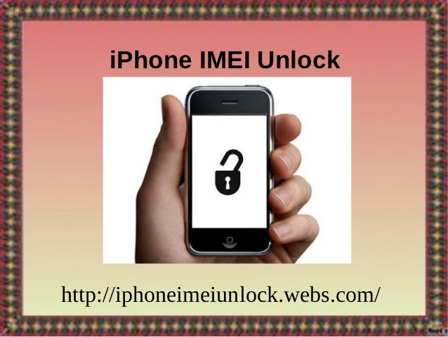 how to change an iphone imei