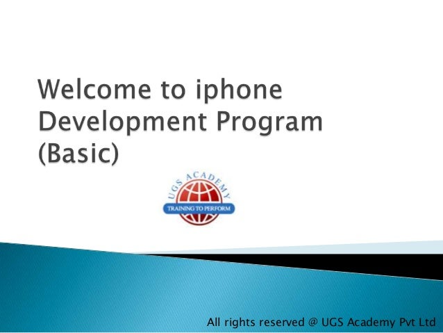 All rights reserved @ UGS Academy Pvt Ltd