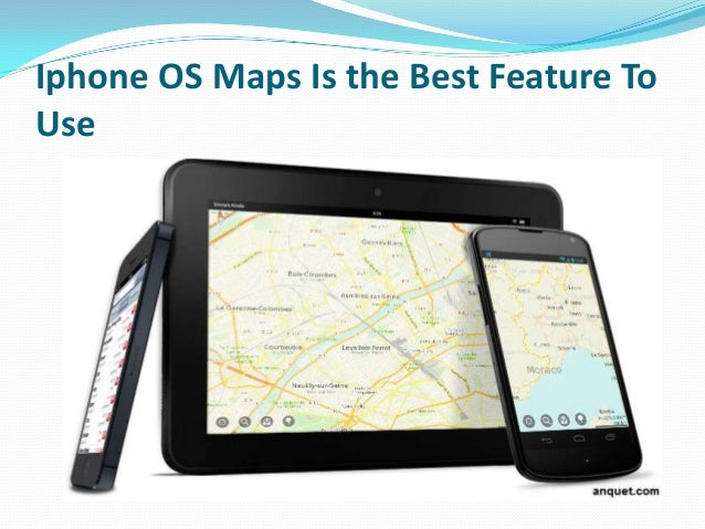 Iphone OS Maps Is the Best Feature To Use on
