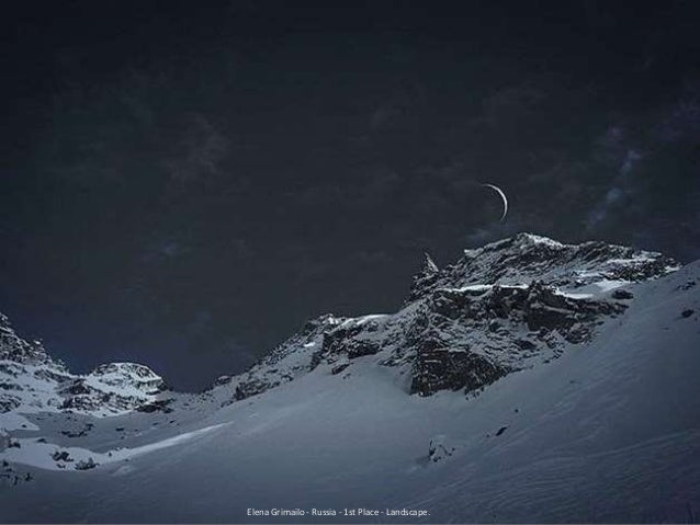 Elena Grimailo - Russia - 1st Place - Landscape.