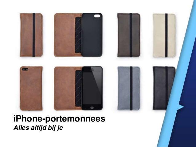 iPhone-portemonnees Alles altijd bij je