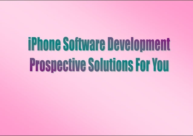 Smartphones have created a complete new potential for digital marketingcompanies around the world. iPhone communicate busi...
