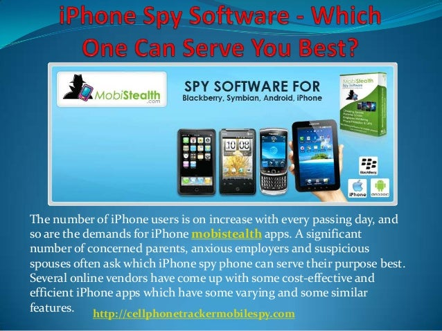 The number of iPhone users is on increase with every passing day, and so are the demands for iPhone mobistealth apps. A si...
