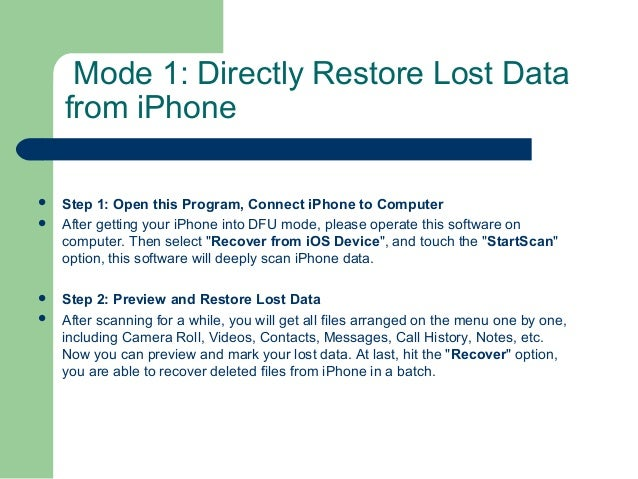 I phone stuck in recovery mode