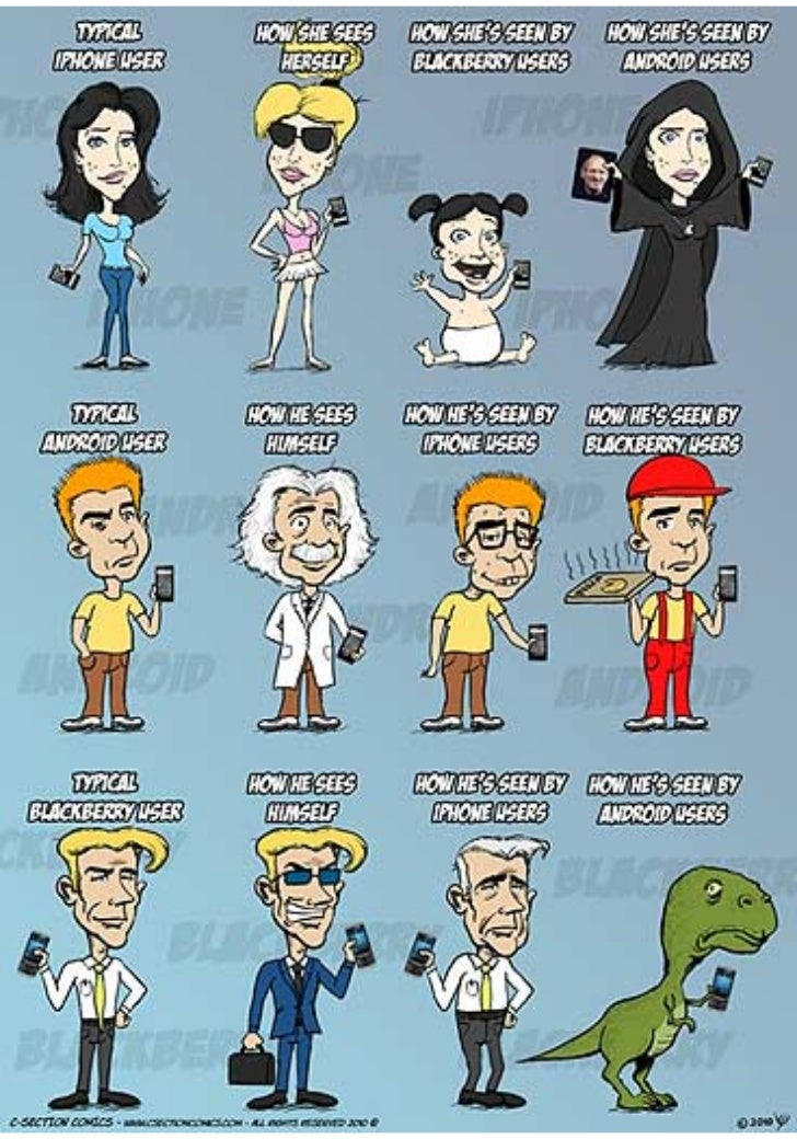 Iphone vs Android vs BB