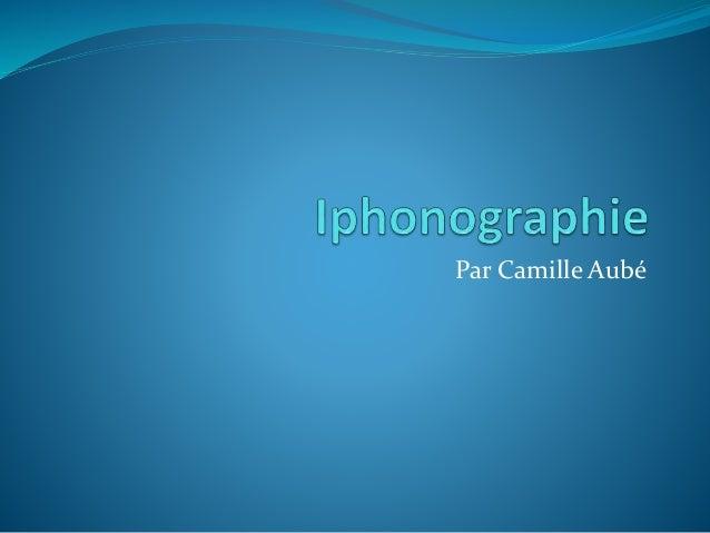Par Camille Aubé