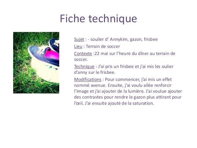 Fiche technique Sujet : Soulier de soccer, ballon de soccer, gazon Lien : soccer et soulier de soccer Contexte : sur un te...