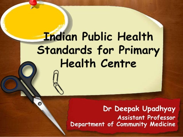 Dr Deepak Upadhyay Assistant Professor Department of Community Medicine