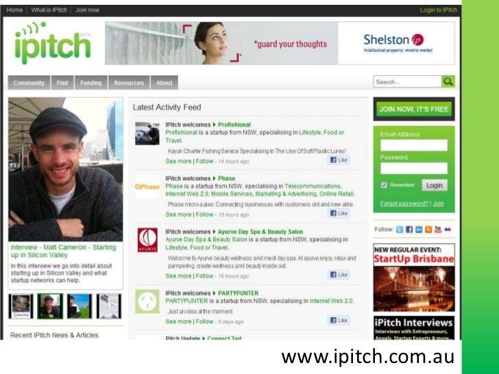 www.ipitch.com.au<br />