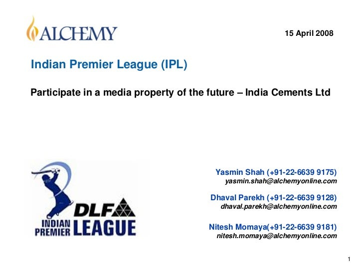 ipl and business Ipl as a business model by presented dharmveer thakur.