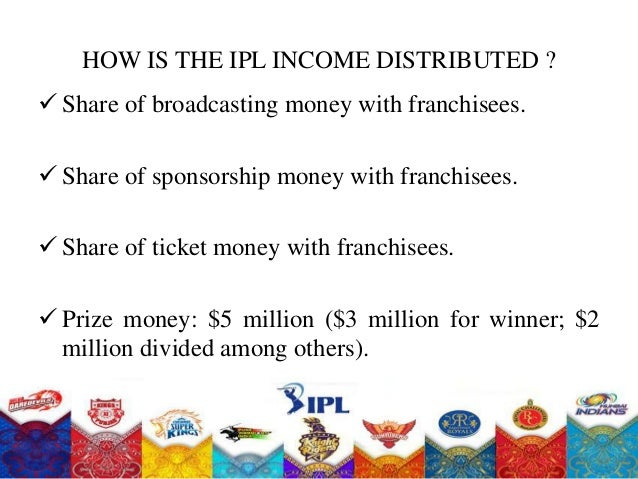 ipl business The indian premier league (ipl), officially vivo indian premier league for  sponsorship  a london-based company, after the conclusion of the 2018  indian premier league, the ipl has seen its business value grow by 37% to an  all-time.