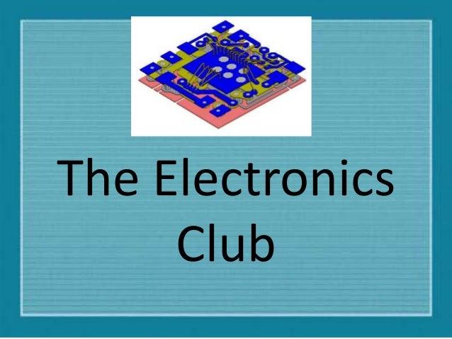 The Electronics Club