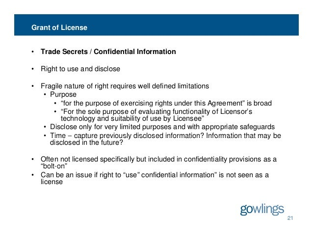 Ip License Agreements Common Issues And Solutions