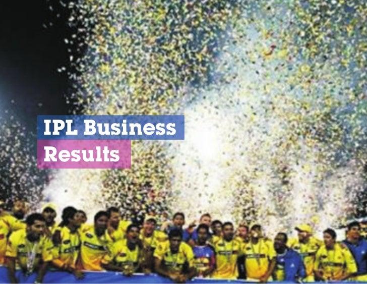IPL BusinessResults