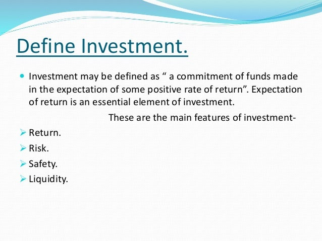 difference between investment speculation and gambling pdf