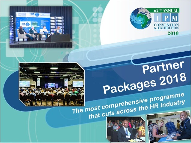The most comprehensive programme that cuts across the HR Industry Partner Packages 2018