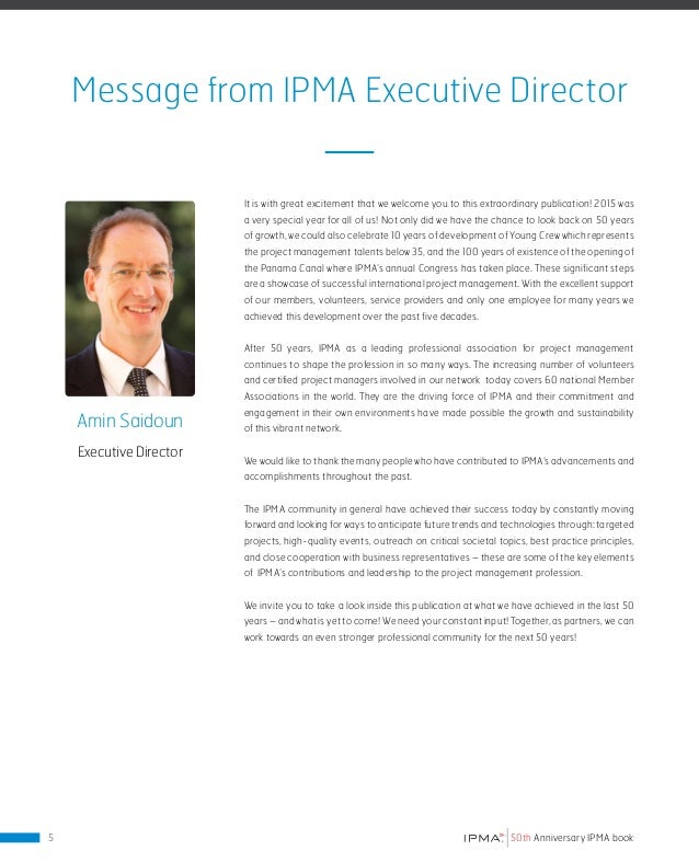 ABOUT IPMA This section succinctly explains the many features of modern day IPMA. Within are explanations of current forma...