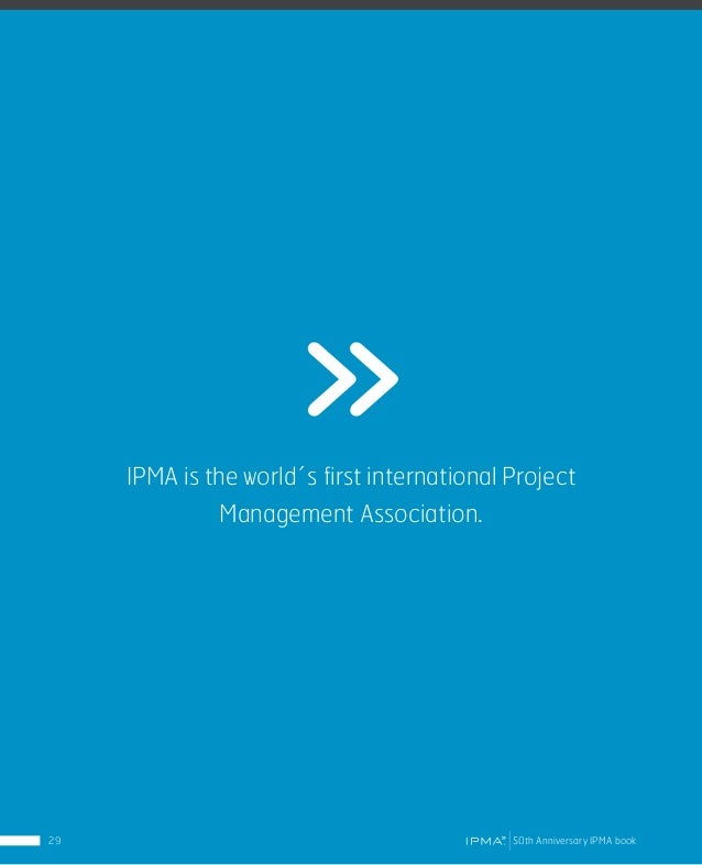 IPMA Ethics IPMA adopted a new Code of Ethics and Professional Conduct in March 2015 to be mandatory for all people acting...