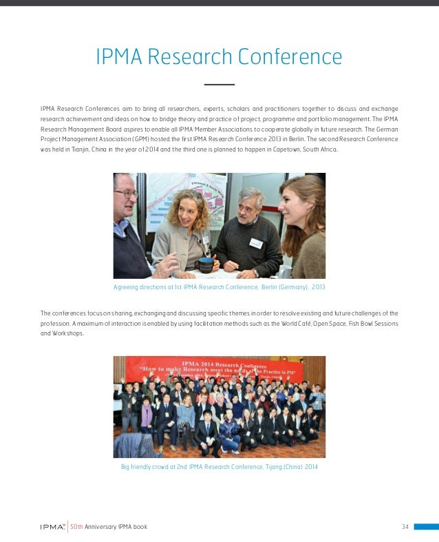 IPMA Standards Standards are essential in an increasing complex world. They should enable collaboration within and across ...