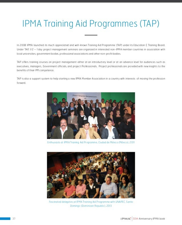 THE IPMA MEMBERSHIP On each of the following pages a flourishing national project management community has taken the oppor...