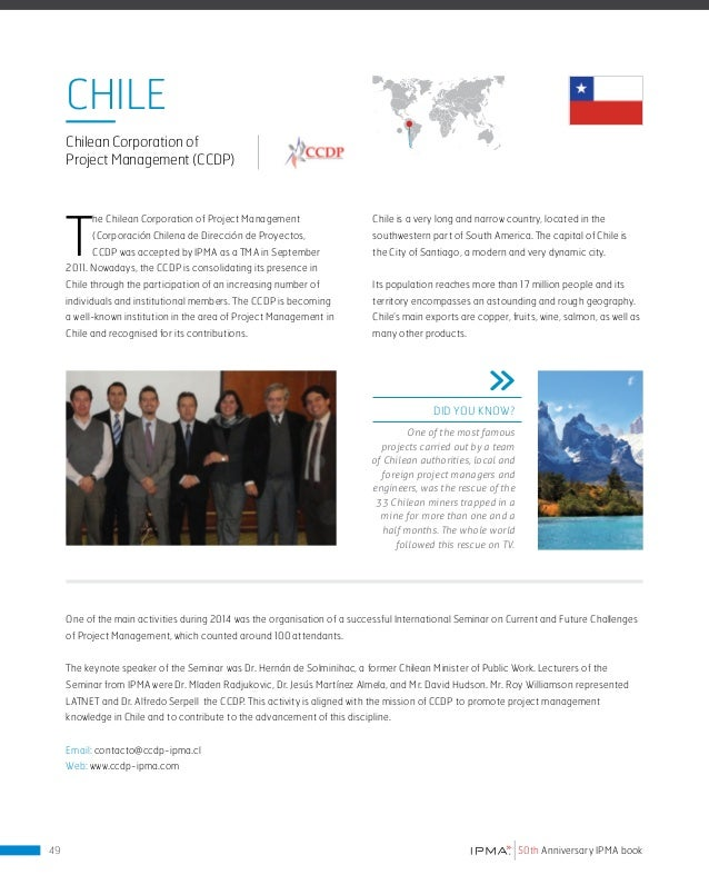 COLoMBIA Association of Engineering Projects Colombia (aiPco) T he Association of Engineering Projects Colombia is an orga...