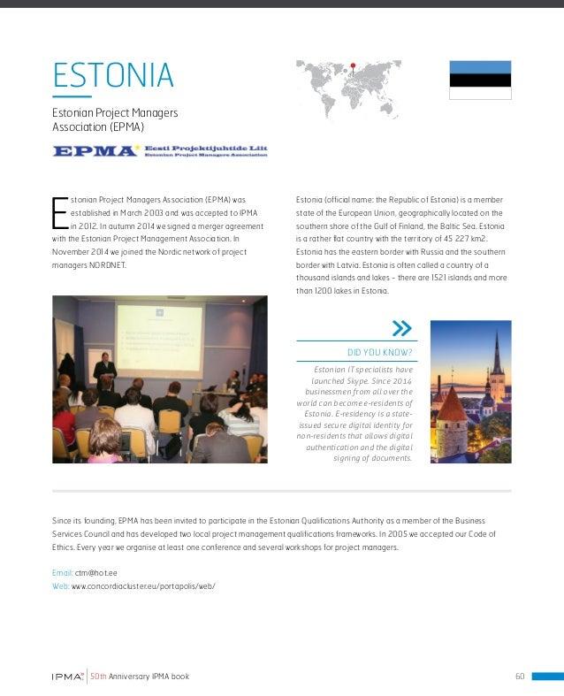 IPMA 50 years