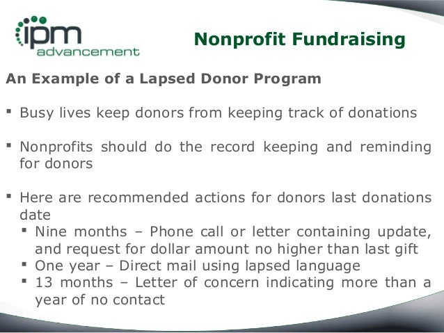 How to Reactivate Lapsed Donors in Nonprofit Fundraising