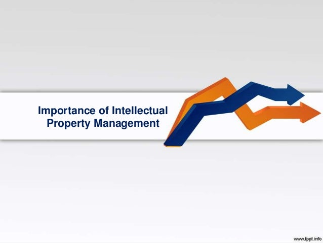 Importance of Intellectual Property Management