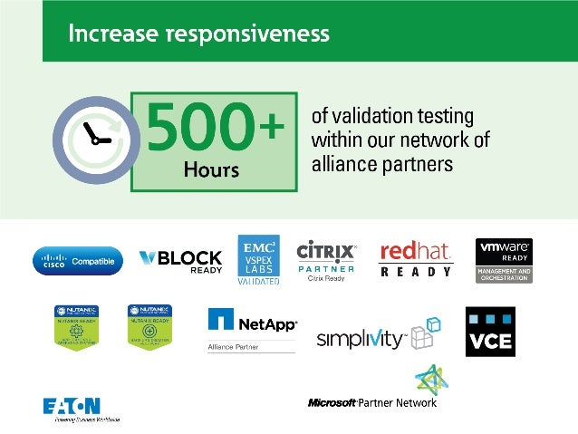 """Increase responsiveness     5 O O + of validation testing within our network of  Hours alliance partners  M 3 ° w vm a e """"..."""