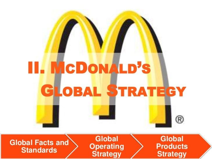 mcdonalds strategic management globalization strategy Ansoff matrix of mcdonalds future strategy growth 12  testing the alternative  strategies 17 60  change management 19  at:   2011/04/16/business/global/16yuanhtml_r=0&module=arrowsnav&contentcoll.
