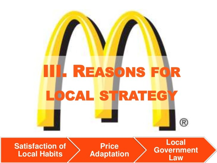 golden arches in india strategic adaption View arlene manalo's profile on linkedin team of 5 marketing professionals based in markets in the asia pacific and middle east region to develop and implement strategic marketing campaigns to bring in top quality talent who will drive golden arches development corporation 1984.