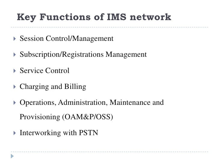 IP Multimedia Subsystems Overview - My Training on IMS
