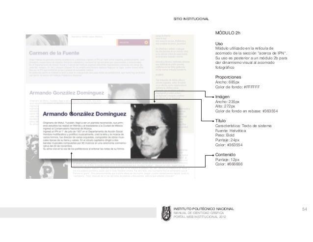 Ipn Manual Identidad web