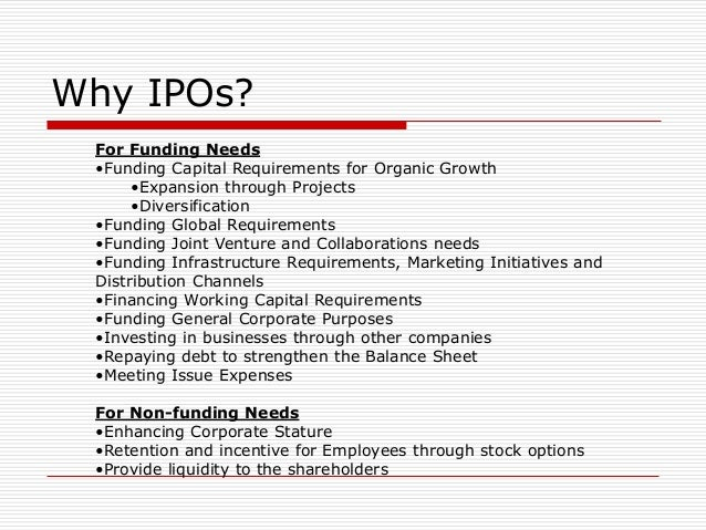 Why ipo generally underpriced