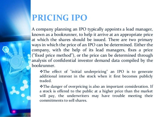 Kbw lead bookrunner on ipo
