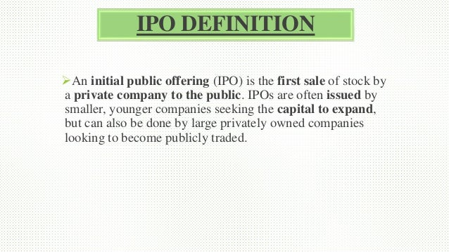 Directed shares ipo investopedia