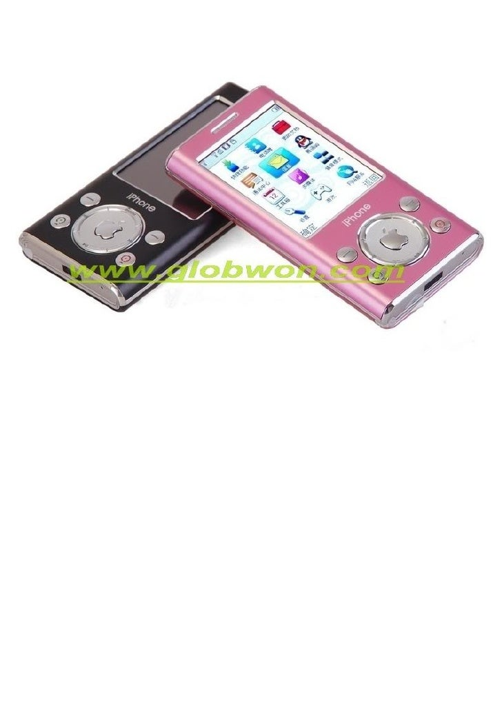 I Pod Dame Dual Sim Portable Cute TéLéPhone Slide 2