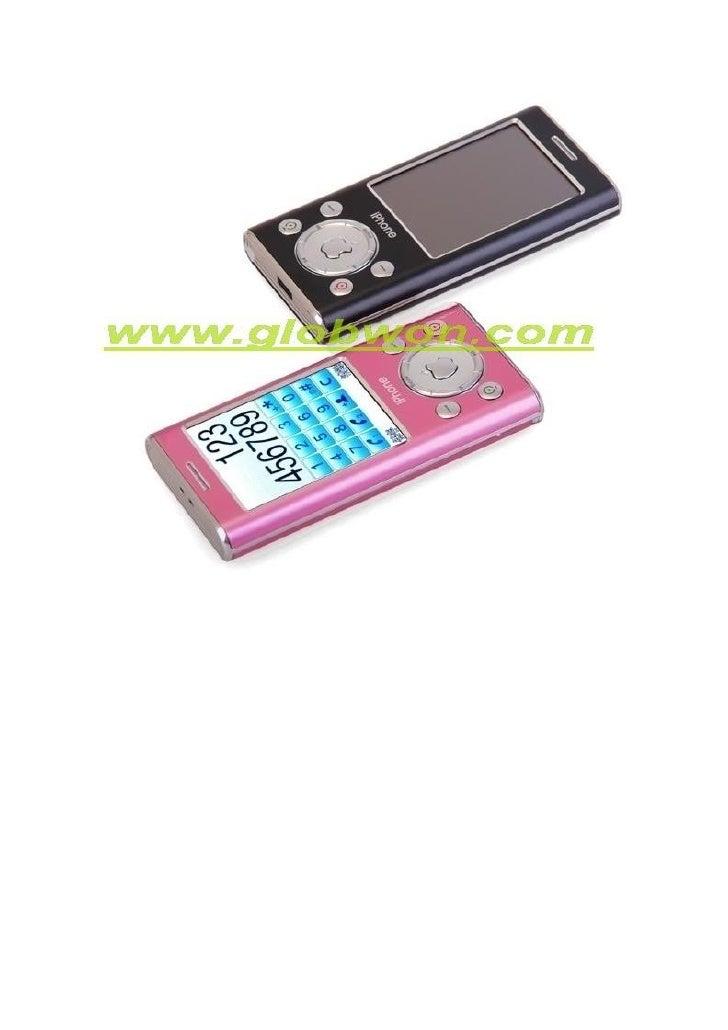 I Pod Dame Dual Sim Portable Cute TéLéPhone Slide 3