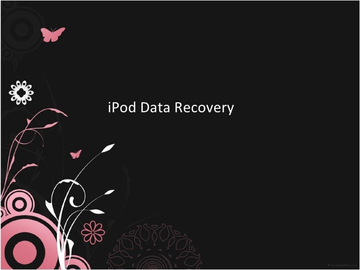 iPod Data Recovery