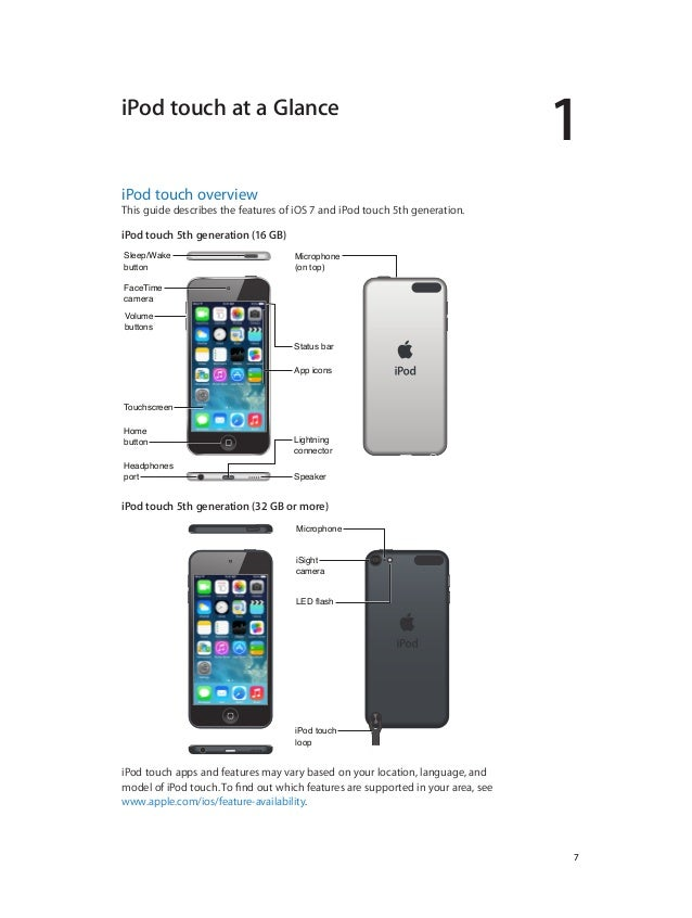 ipod touch 5g user guide sample user manual u2022 rh dobrev co manual ipod touch 5g en español iPod Touch 5th Generation