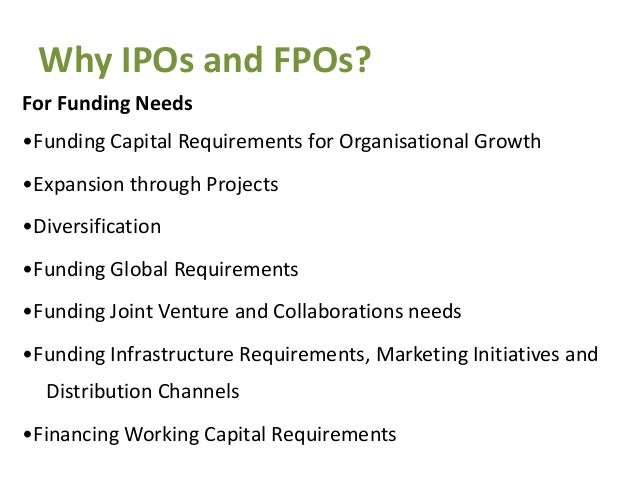 Ipo and fpo share